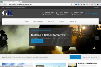 Giuliani & Kull, Inc. Website Homepage