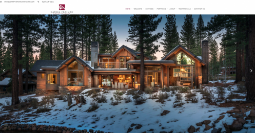 Image of front page of Daniel Fraiman Construction for project page